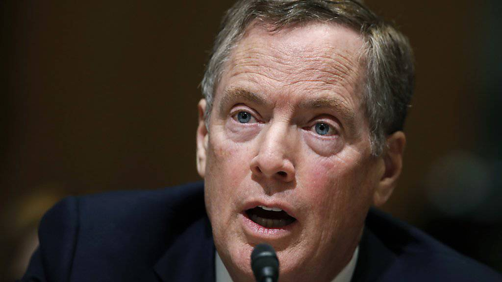 Politikveteran reaktiviert: Robert Lighthizer vom US-Senat als Handelsbeauftragten bestätigt. (Archivbild)
