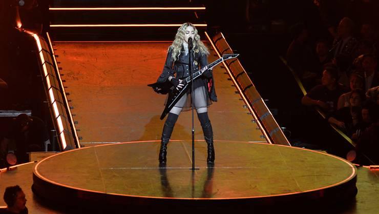 """Popstar Madonna hat ein neues Album realisiert und es """"Madame X"""" getauft. (Archivbild)"""
