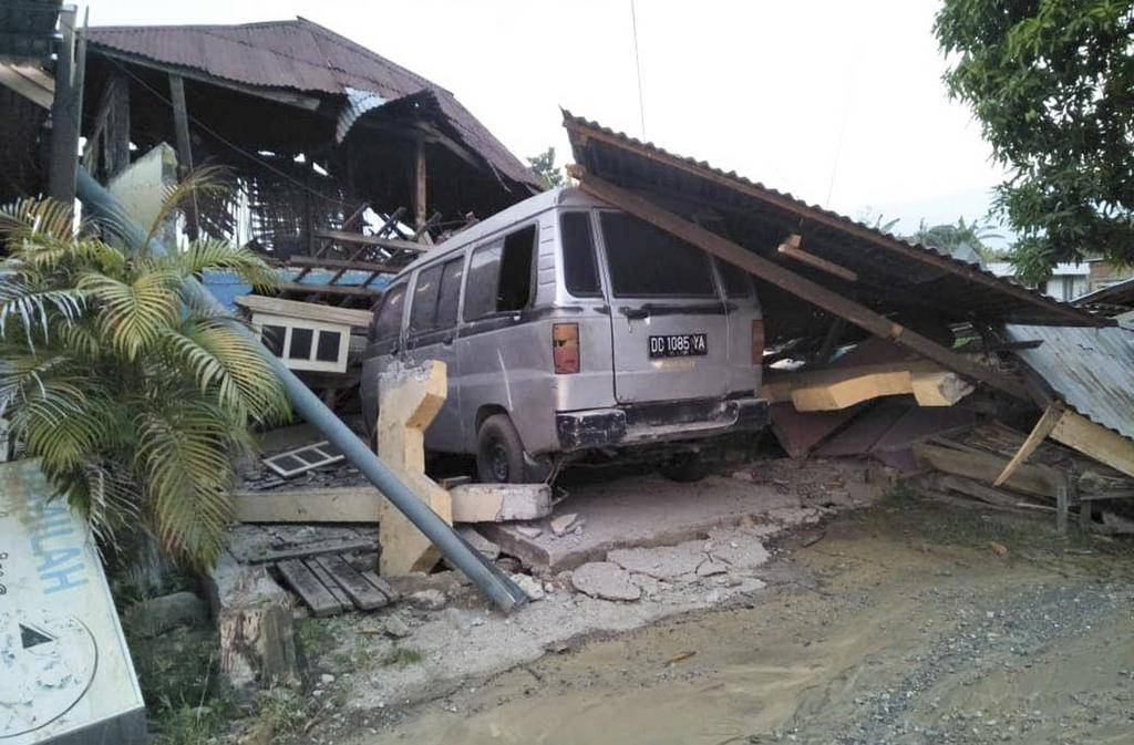 Tsunami in Indonesien (© Keystone)