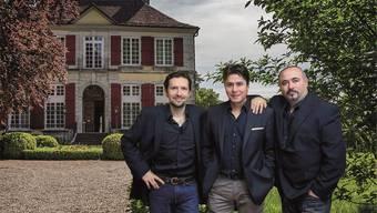 Die drei Tenöre Juan Pablo Marin, Rubén Mora und Ivan Yonkov sind im Schloss Blumenstein zu hören.