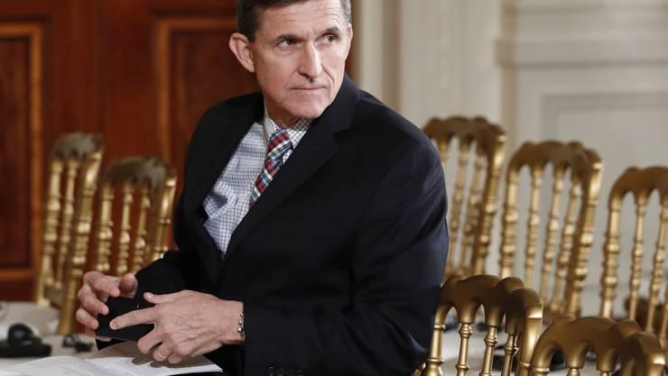 Bereits in der Russland-Affäre wird gegen Es-Sicherheitsberater Flynn ermittelt. Nun wird er verdächtigt, mit türkischen Vertretern Absprachen über die Auslieferung des türkischen Oppositionellen Gülen gemacht zu haben. (Archivbild)