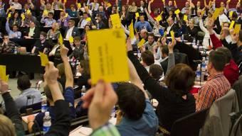 Die Delegierten der GLP in Luzern