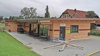 Das neue Bergrestaurant «Ufem Chalt» öffnet am kommenden Sonntag mit Grilladen à discrètion.
