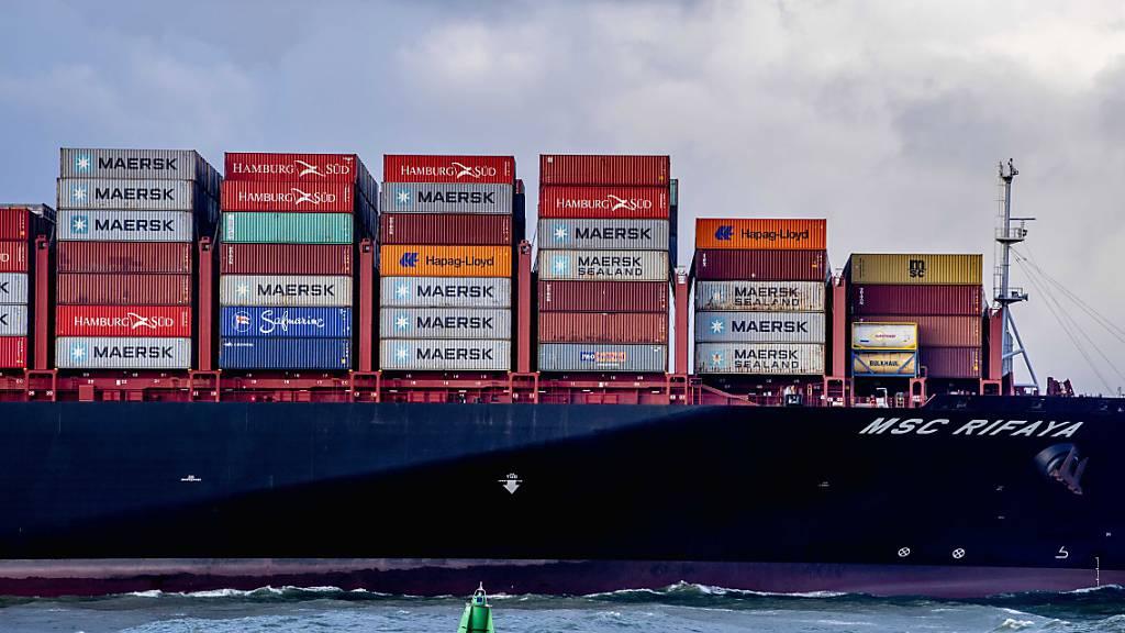 Schweizer Exportwirtschaft läuft auf vollen Touren