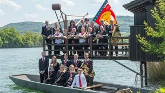 Die Musikgesellschaft Wallbach feiert dieses Jahr ihren 150. Geburtstag. Zum Jubiläum gab es eine neue Uniform. zvg