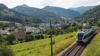 Die Abfahrtszeiten des Läufelfingerlis, hier in Trimbach, werden ab dem neuen Fahrplan abgeändert sein.