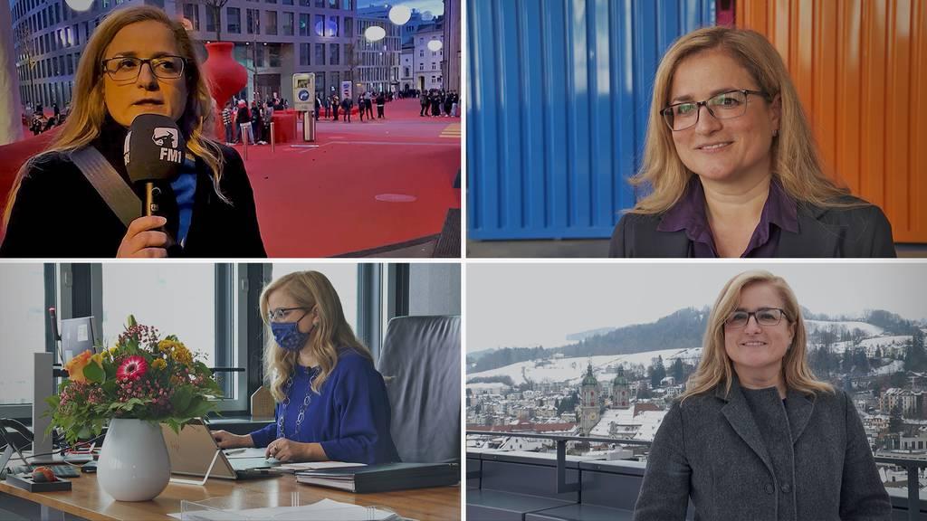Stadtpräsidentin Maria Pappa will St.Gallen ein Gesicht geben