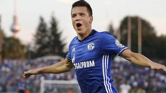 Jewgeni Konopljanka schiesst Schalke zum Cupsieg über den BFC Dynamo