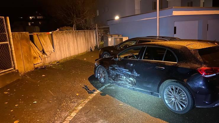 Die 31-Jährige verlor die Kontrolle über ihr Auto und fuhr gegen eine Mauer...