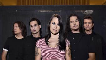 Die Zürcher Rockband Redwood