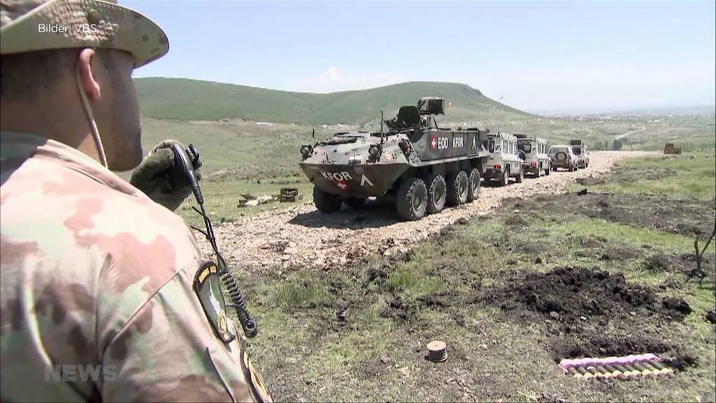 Bundesrat will mehr Soldaten in den Kosovo schicken