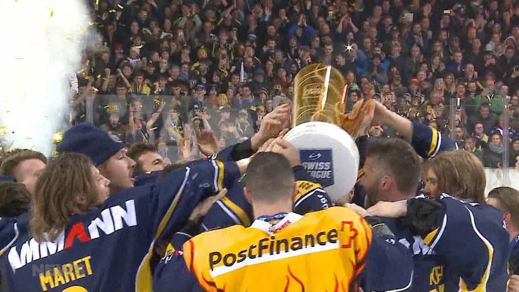 SC Langenthal holt sich Meistertitel