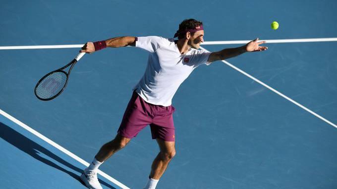 Roger Federer spektakulär im Halbfinal