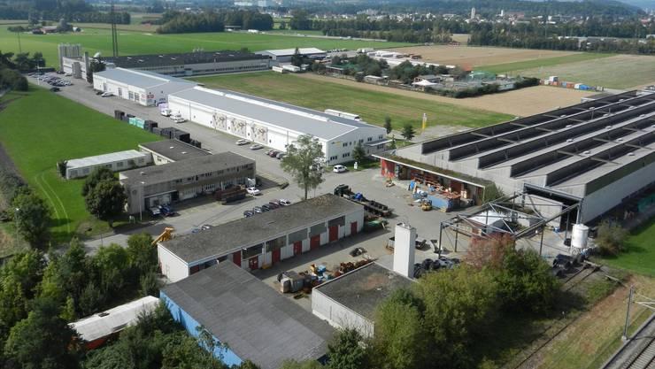 Der Teilzonenplan Fadacker klärt, was hier künftig gebaut werden darf. Im Hintergrund das Derendinger Wissensteinfeld.Rahel Meier