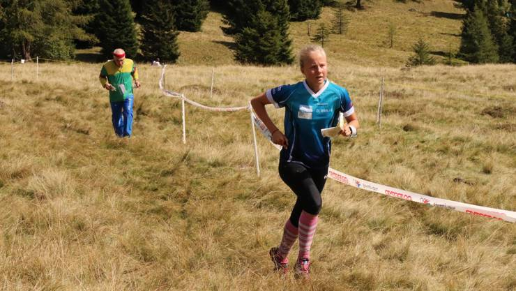 Die 18-jährige Siri Suter wurde Schweizermeisterin über die Mitteldistanz.