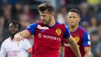 Albian Ajeti avanciert beim FCB mit zwei Assists und einem Treffer zum Mann des Spiels.