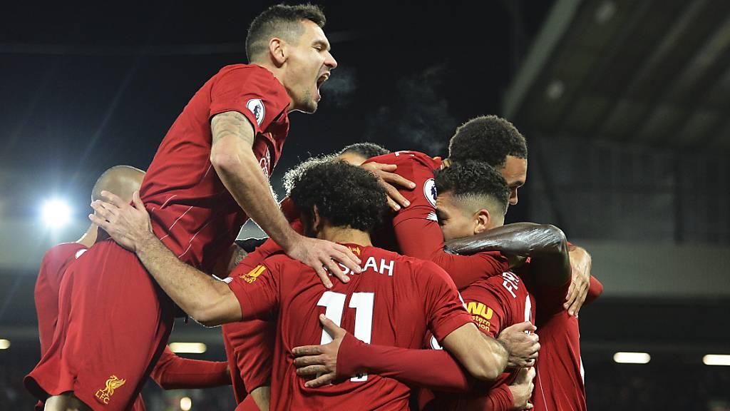 Liverpool schlägt den Meister und festigt Tabellenführung