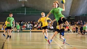 24. Solothurner Minihandball Spieltag in der CIS-Sporthalle Solothurn