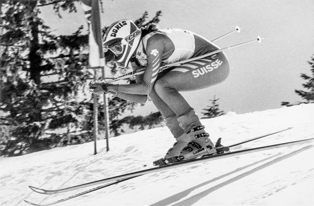Doris de Agostini gewann gleich ihr ersten Weltcuprennen.