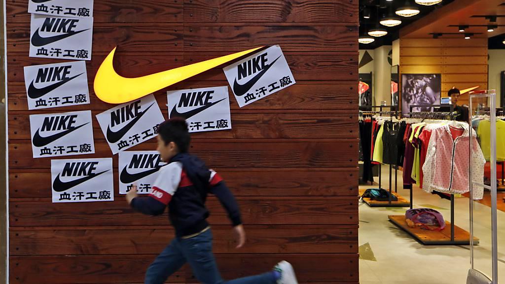 Nike übertrifft Erwartungen deutlich - Online-Boom in Corona-Krise