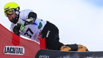 Kaspar Flütsch auf dem Alpinboard im Element