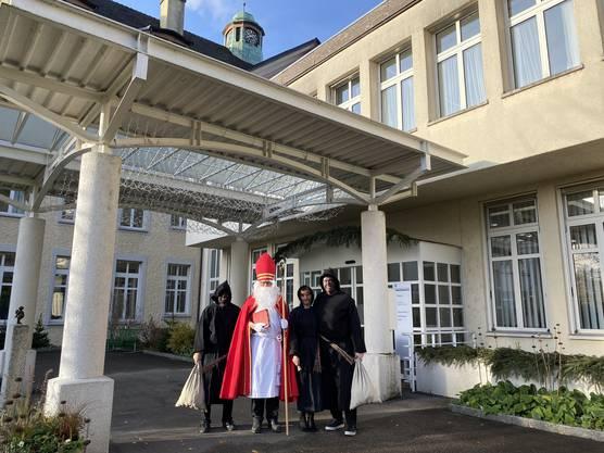Schon seit vielen Jahren besucht der Samichlaus der Zunft zur St. Cordula das RPZ.