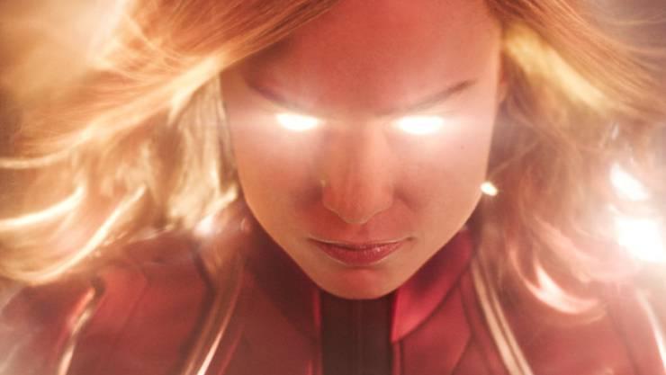 """""""Captain Marvel"""" hat am Wochenende vom 28. bis 31. März 2019 am meisten Leute in die Deutschschweizer Kinos gelockt. (Archiv)"""