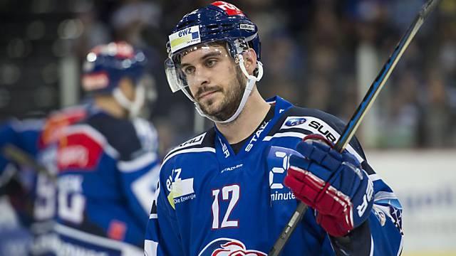 Luca Cunti ist gefordert - von ihm hätte man in der bisherigen Finalserie mehr erwartet.
