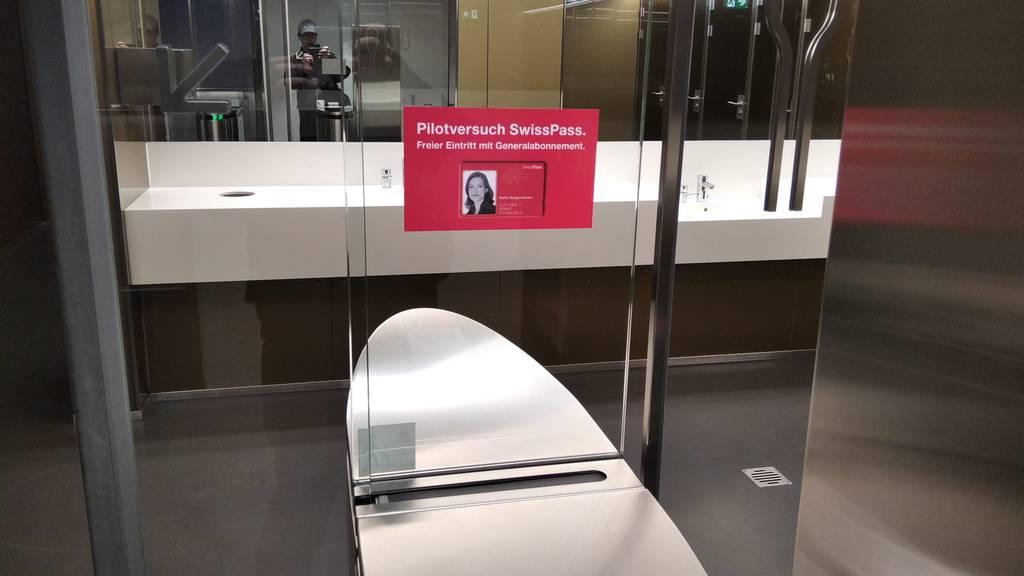 Kritik an SBB: Geben Swisspass-Kunden beim WC-Gang Daten preis?