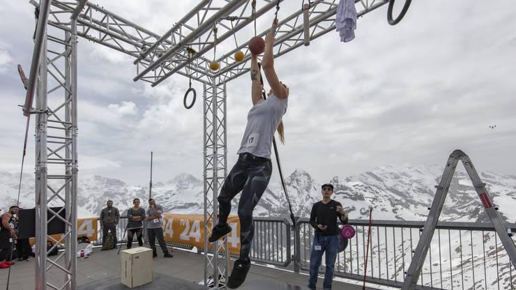 «Ninja Warrior Switzerland»-Casting auf dem Schilthorn am 26. und 27. Mai.