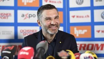 Wie lange hält seine gute Laune? Der neue GC-Trainer Tomislav Stipic