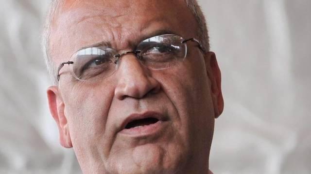Der Chefunterhändler der Palästinenser, Sajeb Erekat, dementiert die Berichte von Al-Dschasira (Archiv)