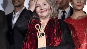 Hanna Schygulla erhielt in Berlin den Ehrenpreis für ihr Lebenswerk.