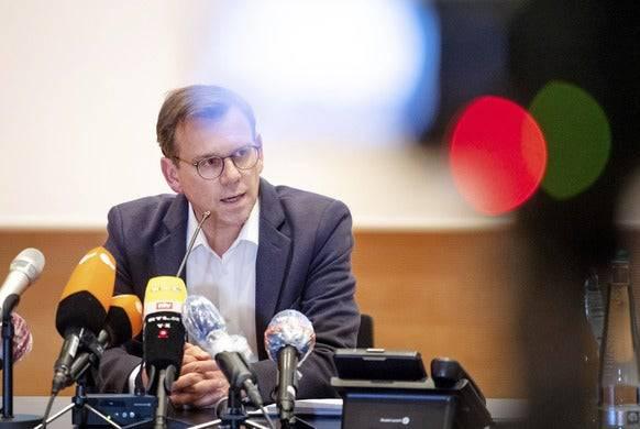 Thomas Kuhlbusch, Leiter des Krisenstabs.