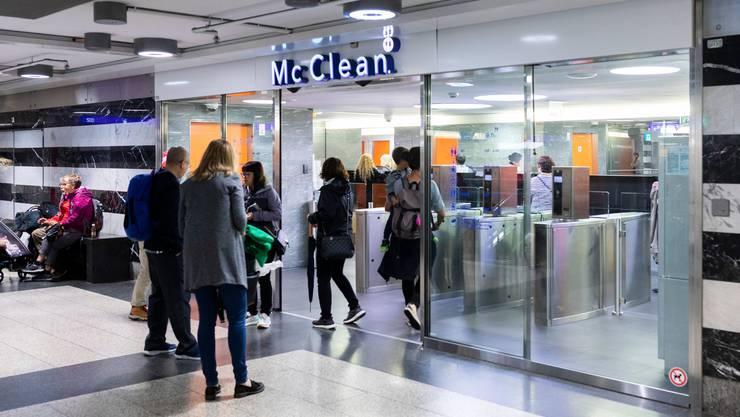 Ein neuer Anbieter kommt zum Zug: Die Toilettenbetreiberin McClean hat bei den SBB das Nachsehen.