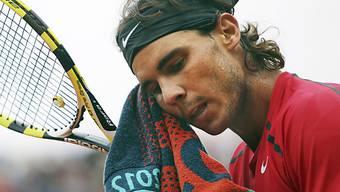 Rafael Nadal schwitzt fürs Comeback.