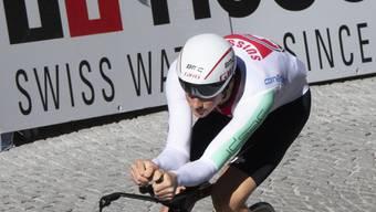 Im Zeitfahren einer der Medaillenanwärter an der WM: Europameister Stefan Küng