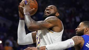 LeBron James will wieder den Korb ins Visier nehmen: Er und andere NBA-Stars sprachen sich für die Fortsetzung der Saison aus