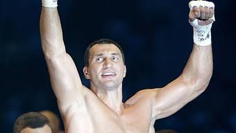 Wladimir Klitschko jubelt erneut