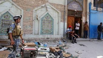 Bei dieser Bagdader Moschee verübte ein Attentäter einen Anschlag