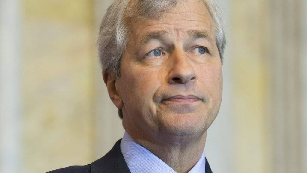 Kräftiges Gehaltsplus: der Chef von JPMorgan Chase Jamie Dimon. (Archiv)