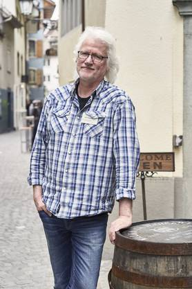 Peter Siegenthaler, seit zehn Jahren Whisky-Händler an der Mittleren Gasse.