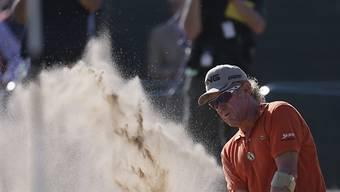 Jimenez übernahm am zweiten Tag der British Open die Führung