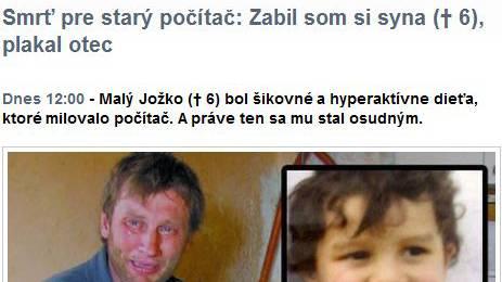 (Bild: Screenshot cas.sk)