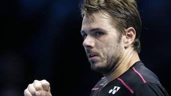 Stan Wawrinka überzeugte nach einem missratenen Start gegen David Ferrer