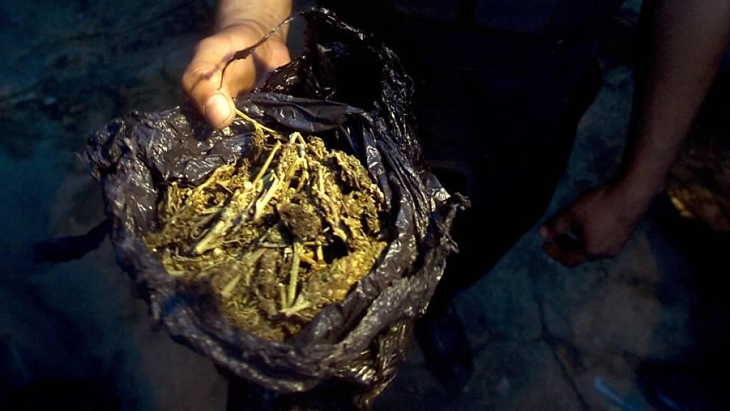 Polizei in Brasilien macht grössten Drogenfund der Geschichte