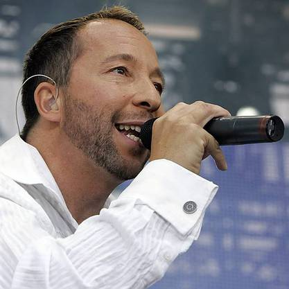 DJ BoBo in Aktion (Archiv)