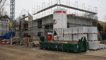 Dank sprudelnden Steuerquellen kann die Gemeinde auch einen neuen Werkhof bauen.  (ach)