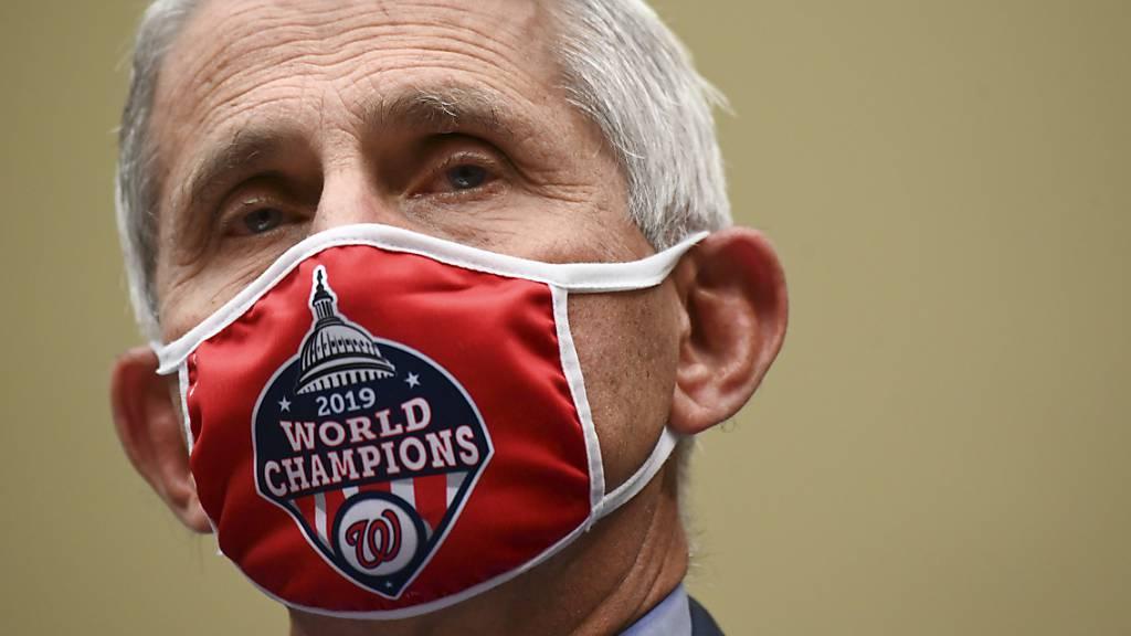Fauci: USA stehen in Pandemie «eine ganze Menge Leid bevor»