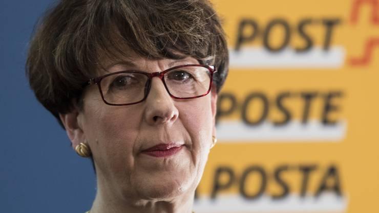 Nicht mehr Chefin der Post: Susanne Ruoff ist aufgrund des Untersuchungsberichts zur Postauto-Affäre zurückgetreten. (Archiv)